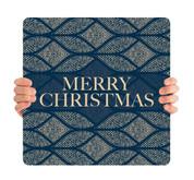 Blue Medallion - Merry Christmas - CHH056