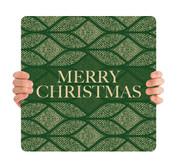 Green Medallion - Merry Christmas - CHH058