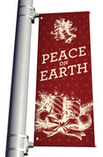 Pole Banner Christmas