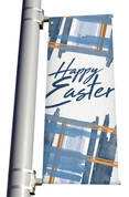 Pole Banner Easter