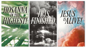 set of 3 xw easter banners
