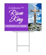 Easter Purple Design - Risen King