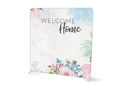 Spring Floral Welcome Home Tension Backdrop