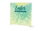 Green Easter Dandelions Tension Backdrop