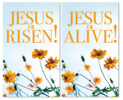 set of 2 xw Easter indoor banners