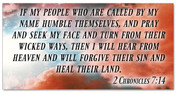 2 Chronicles 7:14 banner