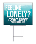 Yard Sign feeling lonely?