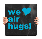 COVID ReOpen Handheld - Style 6 - We Love Air Hugs