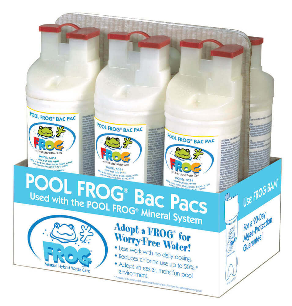 Pool Frog® Bac Pac 5150 - 6/pack  -  01-03-5880 - 6