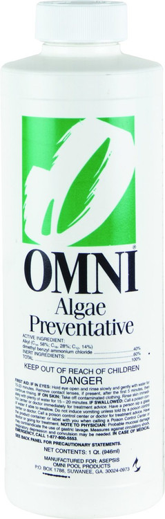 Omni Algae Preventative  -  1 qt