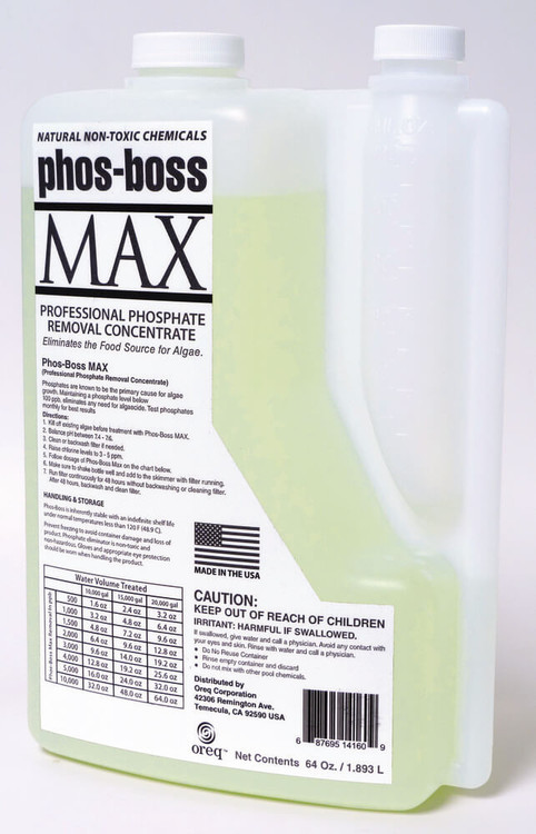 ClearView Phos-Boss MAX - 1/2 gal