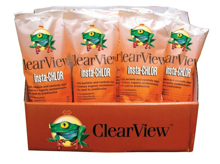 ClearView Insta-Chlor shock - 24 x 1 lb
