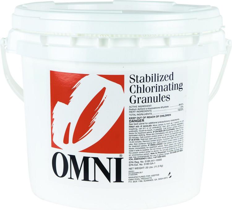 Omni Chlorinating Granules - 25 lb