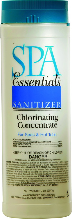 Spa Essentials Chlorinating Concentrate - 2 lb