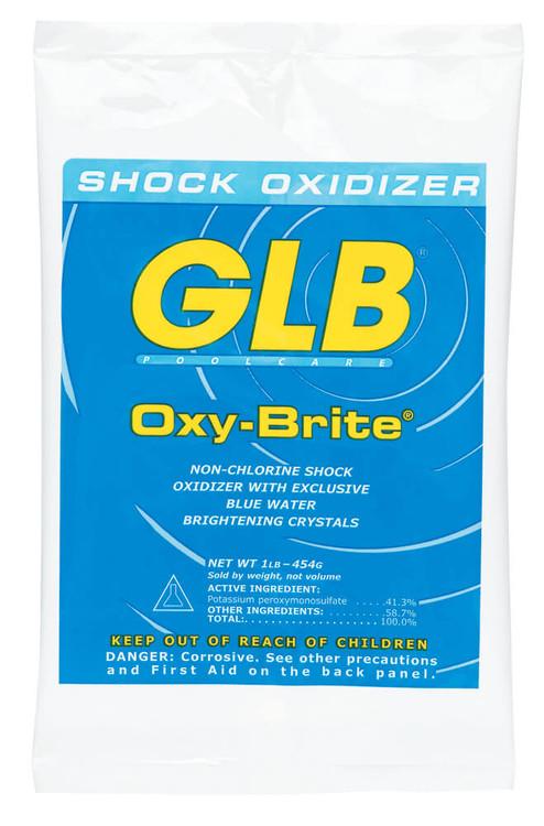 GLB® Oxy-Brite® non-chlorine shock oxidizer -  1 lb