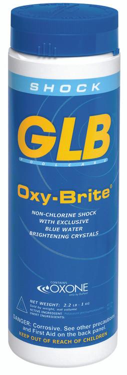 GLB® Oxy-Brite® non-chlorine shock oxidizer -  2.2 lb