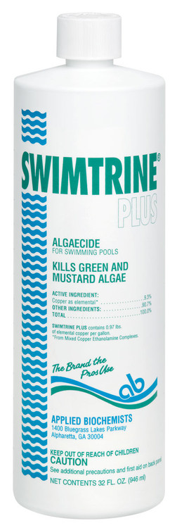 Applied Biochemists® Swimtrine® Plus algaecide  -  1 qt