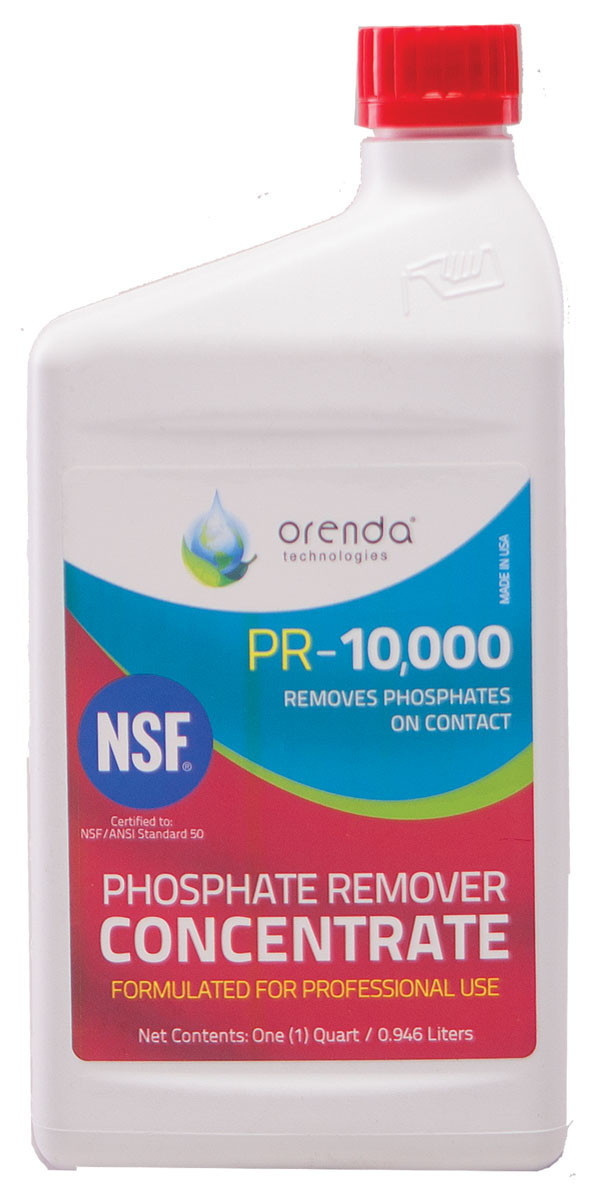 Orenda pr 10 000 phosphate remover mkm pool spa - Phosphate treatment for swimming pools ...