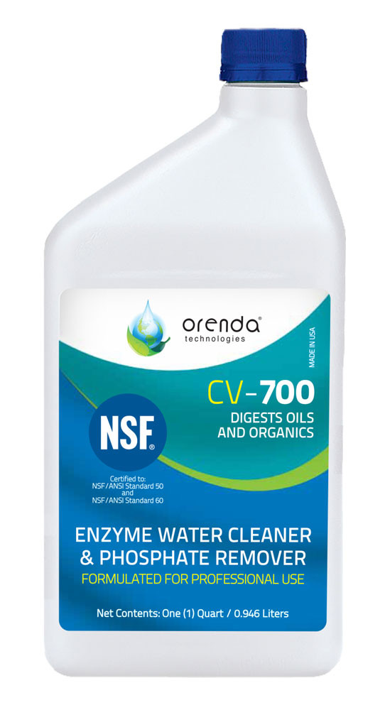 Cv 700 catalytic enzyme phosphate remover mkm pool spa - Phosphate treatment for swimming pools ...