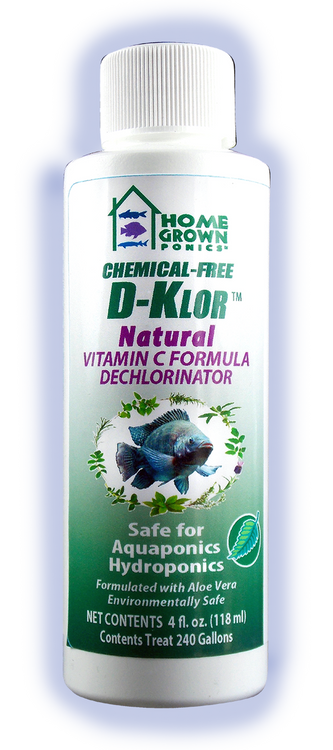 - Safe for Aquaponics & Hydroponics - Revolutionary Natural Water Conditioner - Will not harm biological filters - Removes chlorine and breaks the chlorine/ammonia bond in chloramines used to sanitize public water supplies. - Chemical-Free