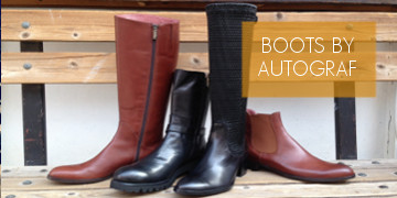 Boots designed by AUTOGRAF