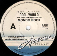 MONDO ROCK  -   Cool world/ Back on the outside (G81368/7s)