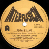 NEWTON-JOHN,OLIVIA  -   Totally hot/ Dancin' 'round and 'round (G81385/7s)