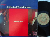 HODES,ART & TRUCK PARHAM  -  PLAIN OLD BLUES  (G168691/LP)