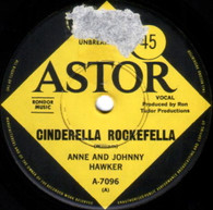 HAWKER,ANNE & JOHNNY  -   Cinderella Rockefella/ Wiggle your toes (G82204/7s)