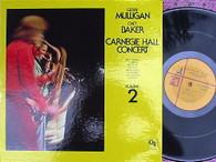 MULLIGAN,JERRY & CHET BAKER  -  CARNEGIE HALL CONCERT VOLUME 2  (G168779/LP)