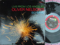 NELSON,OLIVER & BIG BAND  -  LIVE FROM LOS ANGELES  (G168780/LP)