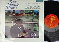 COUNT BASIE  -  BASIE PICKS THE WINNERS  (G168808/LP)