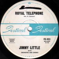 LITTLE,JIMMY  -   Royal telephone/ Hornets (G83302/7s)