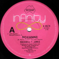 JAMES,ROCKWELL T.  -   Roxanne/ Hey mama (G83241/7s)