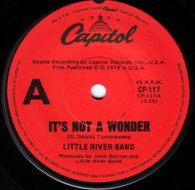 LITTLE RIVER BAND  -   It's not a wonder/ The rumour (G83297/7s)