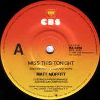 MOFFITT,MATT  -   Miss this tonight/ Save your worry (G83331/7s)