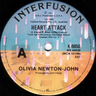 NEWTON-JOHN,OLIVIA  -   Heart attack/ Stranger's touch (G12218/7s)