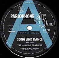 HAWKING BROTHERS  -   Song and dance/ Bob (G84206/7s)