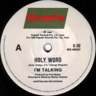 I'M TALKING  -   Holy word/ Holy word (Instrumental) (G84222/7s)