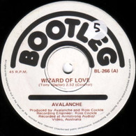 AVALANCHE  -   Wizard of love/ The climb (Instrumental) (8510/7s)