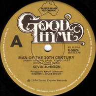 JOHNSON,KEVIN  -   Man of the 20th century/ Sunday morning roses (85152/7s)