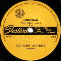 JOY BOYS  -   Hindustan/ Feelin' blue (G57489/7s)