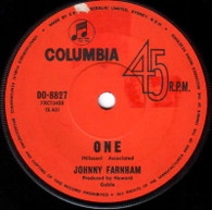 FARNHAM,JOHNNY  -   One/ Mr. Whippy (G57322/7s)