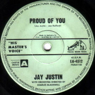 JUSTIN,JAY  -   Proud of you/ Love me, love, me, baby darling (G58232/7s)