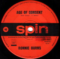 BURNS,RONNIE  -   Age of consent/ Piccadilly pages (G6080/7s)