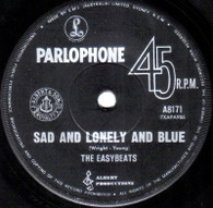 EASYBEATS  -   Sad and lonely and blue/ Easy as can be (61164/7s)