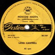 CANTRELL,LANA  -   Moscow nights/ Mama may I (6490/7s)