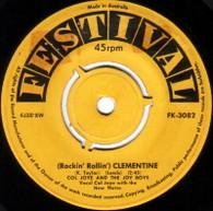 JOYE,COL & JOY BOYS  -   (Rockin' rollin') Clementine/ Fools like me (64289/7s)