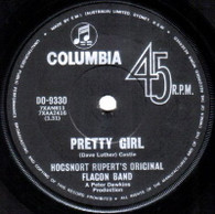 HOGSNORT RUPERT'S ORIGINAL FLAGON BAND  -   Pretty girl/ Your tender look (G66392/7s)