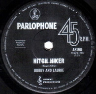 BOBBY & LAURIE  -   Hitch hiker/ You'll come round (63 39/7s)